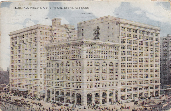 Marshall Field's flagship store on State.