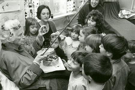 Margaret Flinsch, a teacher of Gurdieff.