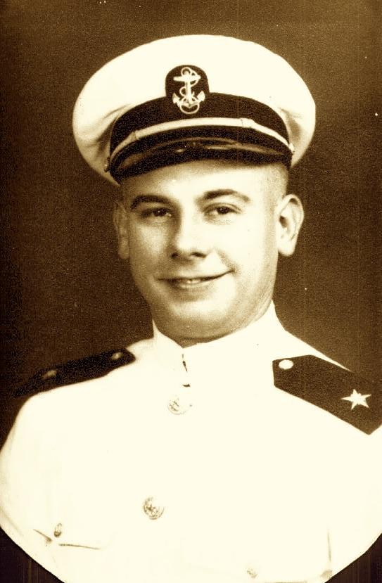 William A. Balk, Sr. during flight training.