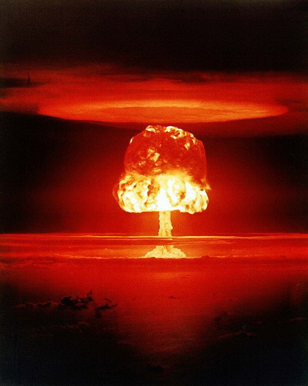 Castle-Romeo nuclear test, March 27, 1954.
