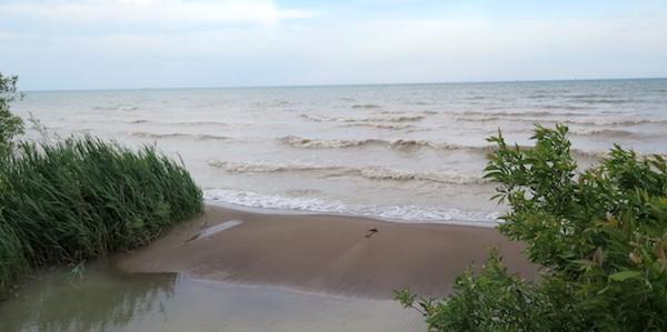 Lake Erie, near Port Dover, Ontario.