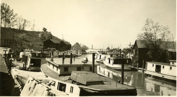 """We all knew the names"": fish tugs and net shanties, Port Dover Ontario, 1940's."