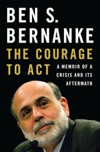 Bernanke's memoir: lapidary prose, with a soupçon of waspishness.