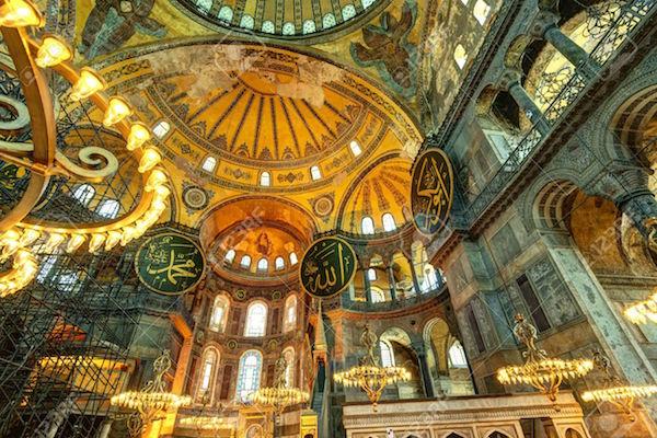 By any name, monumental splendor: Hagia Sophia.