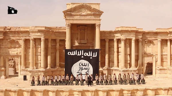 """ISIS """"erases"""" both the living and the legacy of the dead, in Palmyra."""