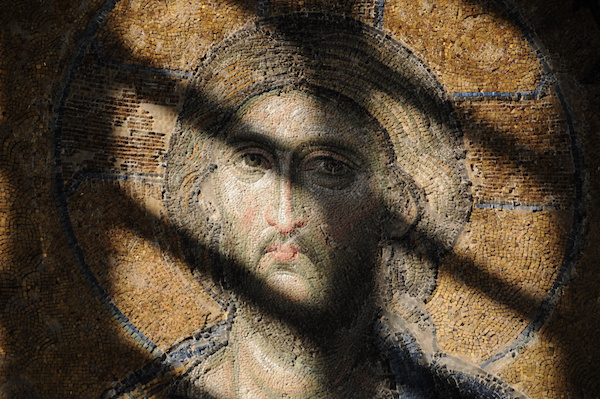 Deesis Mosaic of Jesus, Hagia Sofia.