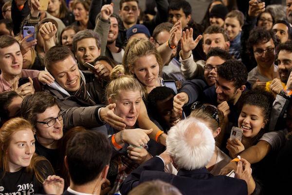 Bernie Sanders: en route to nuance.
