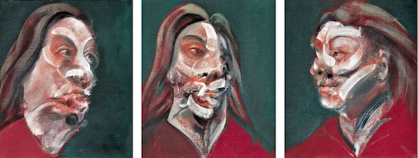 """Three Studies of Isabel Rawsthorne,"" by Francis Bacon (1966)"