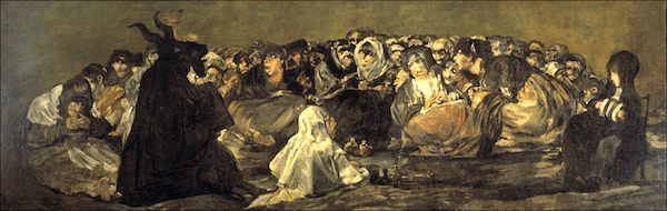 """El Aquellare,"" by Francisco Goya."