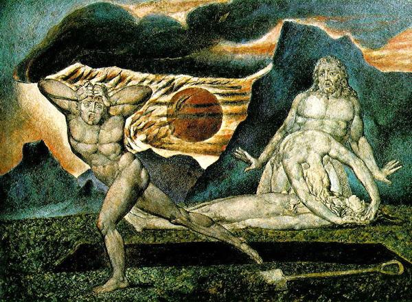 """""""The Temptation of Christ on the Mountain,"""" by Duccio di Buoninsegna."""