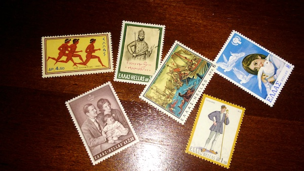 A selection of stamps from my late father's collection.