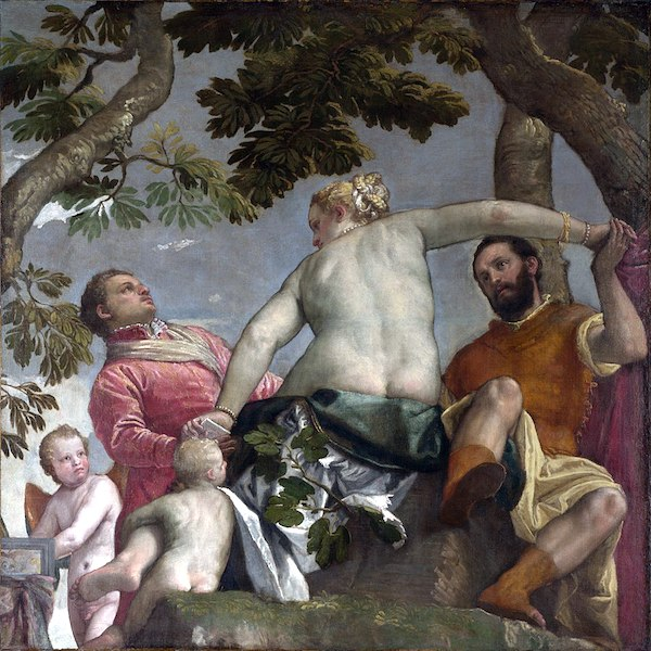 "Paolo Veronese, ""Allegory of Love I: Unfaithfulness."""