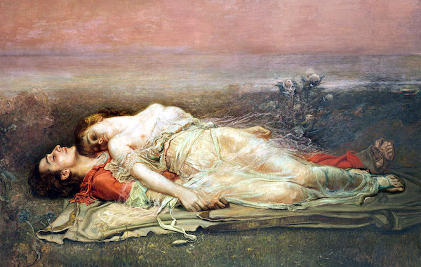 """Tristan and Isolde (Death),"" by Rogelio de Egusquiza y Barrena (1845 –1915)."