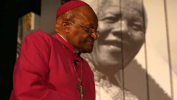 "Archbishop Desmond Tutu: ""If you are neutral in situations of injustice, you have chosen the side of the oppressor."""