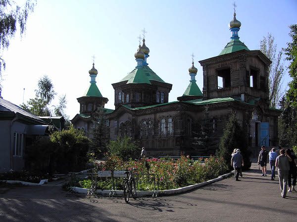 Holy Trinity Russian Orthodox cathedral, Karakol.