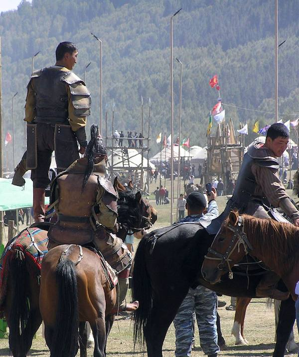 Sons of Ghengis Khan.