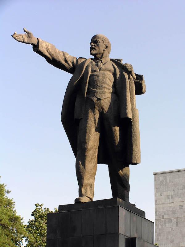Vladimir Lenin in Bishkek.