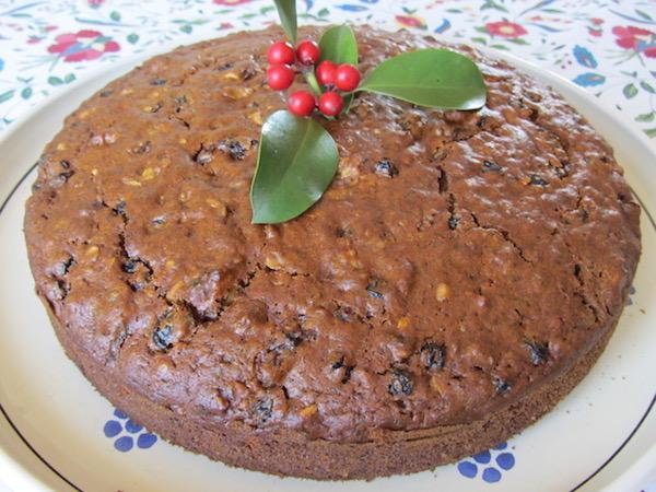 Cretan Raisin Cake.