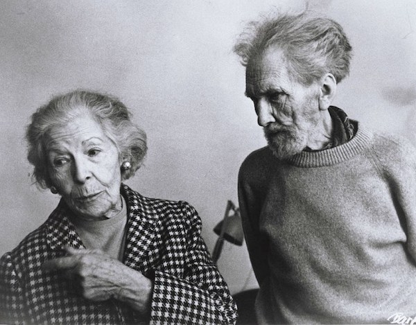 Ezra Pound and Olga Rudge.