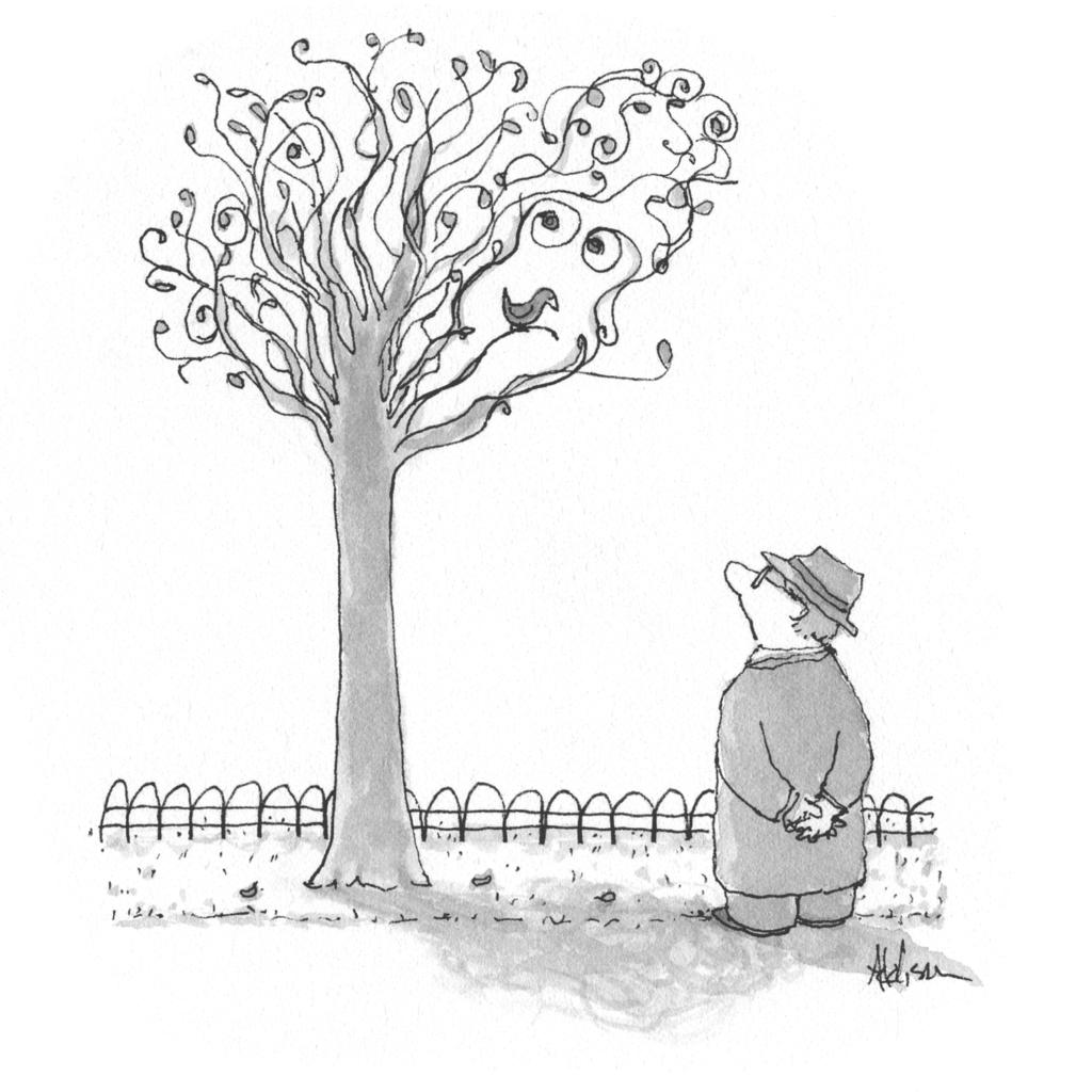 Kershaw tree woman