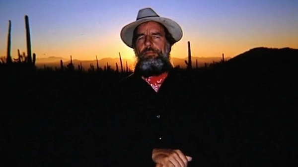 Edward Abbey, a voice in the wilderness.