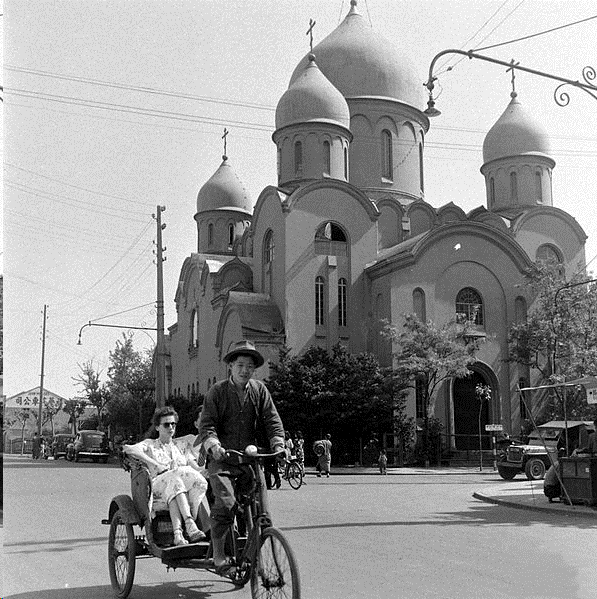 Russian Orthodox Cathedral in Old Shanghai, where I was baptized.