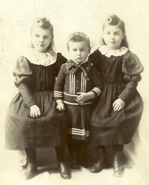 Sorrow in a bow tie, 1893.