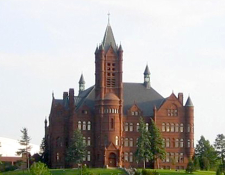 Crouse College at Syracuse University.