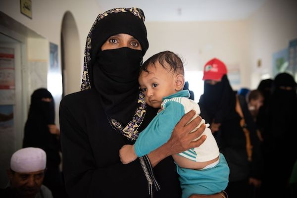 Fawzia and Mohammed. (Photo: Ezra Millstein/Mercy Corps.