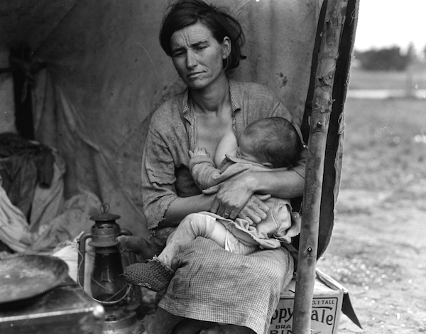 Mother and child of America's Great Depression. (Photo: Dorothea Lange)