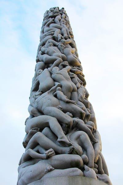 "Vigeland's ""The Monolith."""