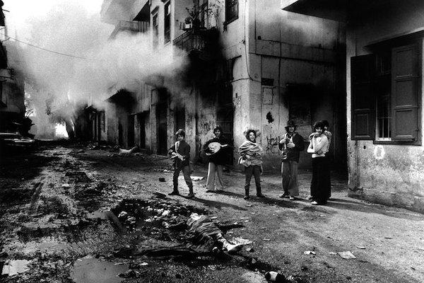 Lebanon, East Beirut, 1976.