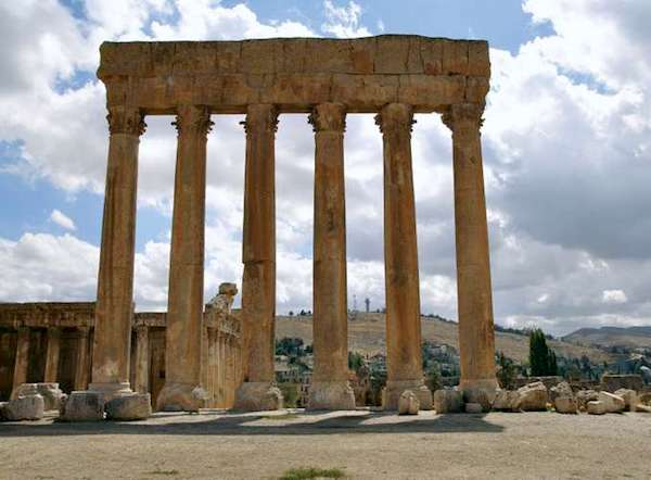 Temple of Jupiter at Baalbek, Lebanon, 2009.