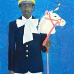 """""""It Made Sense...Mostly In Her Mind,"""" by Amy Sherald."""