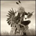 Lakota Coyote Dancer, by David Michael Kennedy.