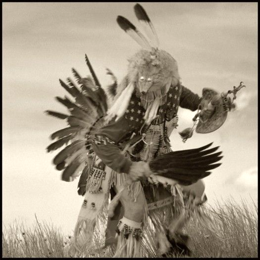 Lakota Coyote Dancer, by David Michael Kennedy.