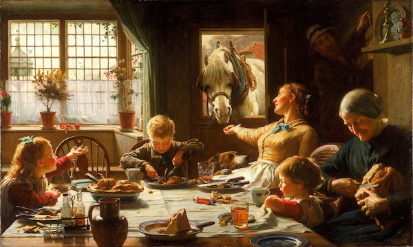 "Frederick George Cotman, ""One of the Family."" (1880)"