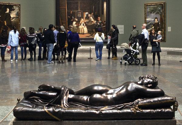 """Sleeping Hermaphrodite,"" Museo de Prado."