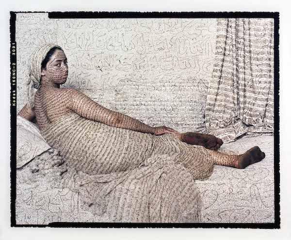 """Harem Beauty (triptych),"" 2008."