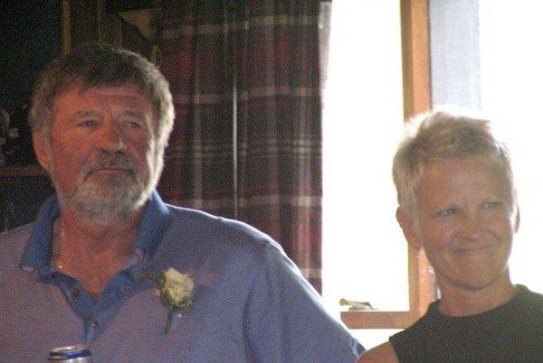 Ray White and Robin, 2009, Cincinnatus NY.