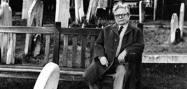 Elias Canetti. (Photo: Bildband Schriftsteller.)