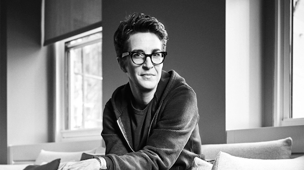 "MSNBC's Rachel Maddow, our most trusted daily news source. (Photo: Mike McGregor for ""Variety."")"