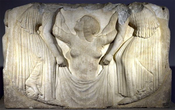 Panel from the Ludovisi Throne.