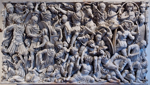 The Ludovisi Sarcophagus.