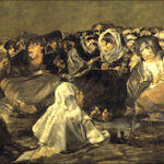 """Witches' Sabbath (The Great He-Goat),"" by Francisco de Goya y Lucientes (1821-1823)."