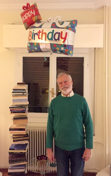 Birthday in Athens.