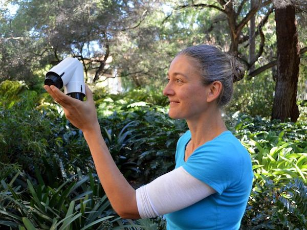 Dr. Monica Gagliano, Research Associate Professor of Evolutionary Ecology.