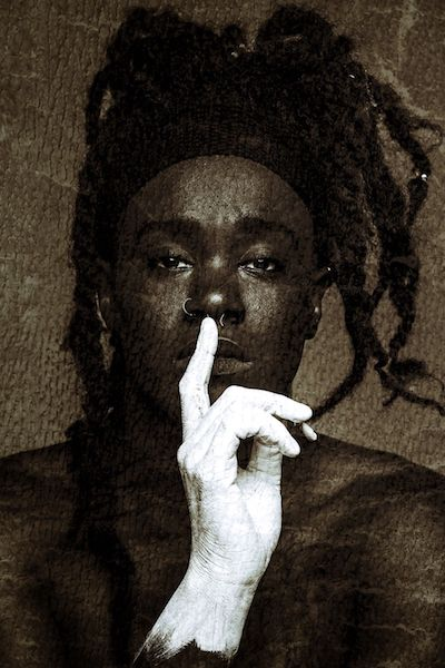 "From ""Visualizing Racism."" (Photo: By Jahi Chikwendiu, Washington Post staff photographer.)"