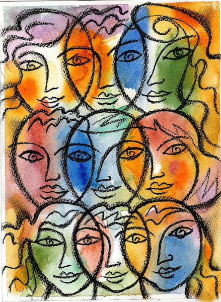 """""""Diversity,"""" by Leon Zernitsky[https://en.wikipedia.org/wiki/Leon_Zernitsky]."""