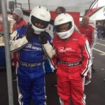 F. Theresa and her sister's excellent NASCAR Racing Experience.